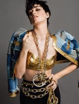 KATY PERRY MODELS FOR MOSCHINO