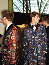 BACKSTAGE: LOUIS VUITTON